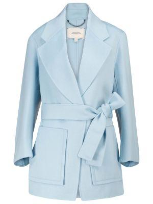 Синее шерстяное пальто Dorothee Schumacher