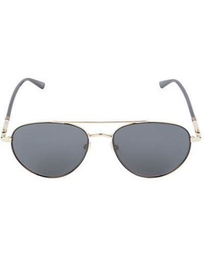 Солнцезащитные очки золотые металлические Gucci