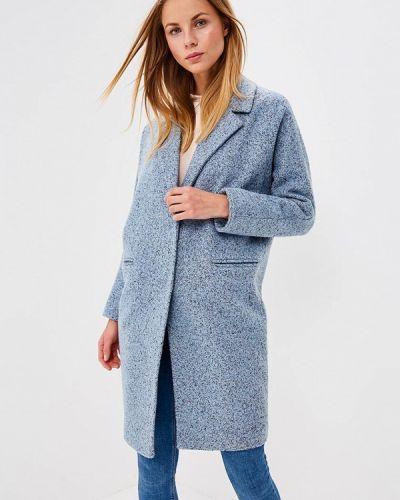 Голубое пальто весеннее Trendyangel