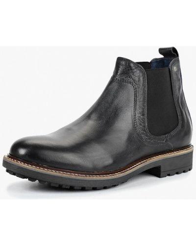 Ботинки челси осенние кожаные Bata