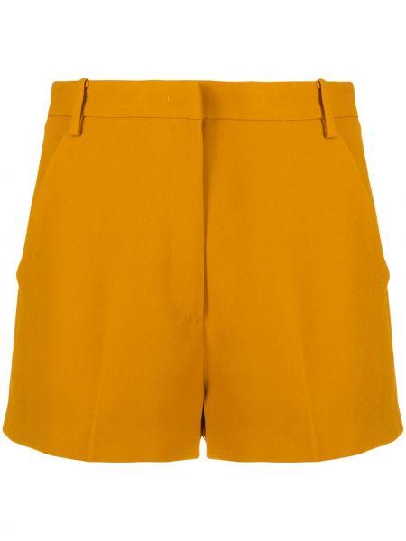 Желтые повседневные пляжные шорты с карманами N°21