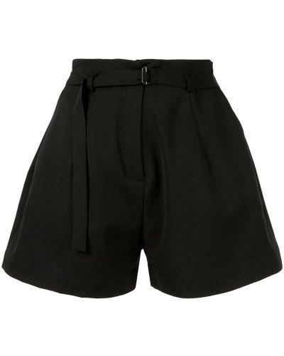 Черные шорты с карманами Isabel Benenato