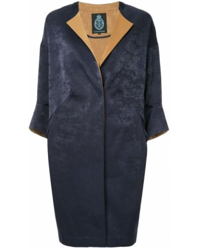 Пальто на запах - синее Guild Prime