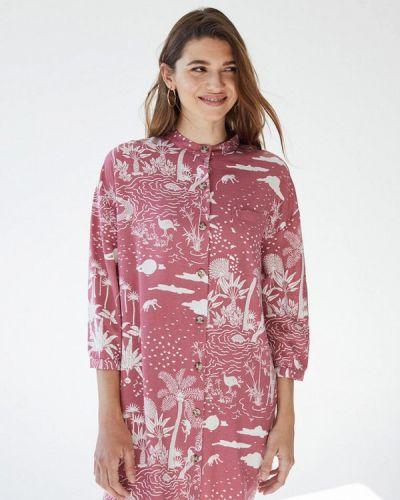 Розовое платье осеннее Women'secret