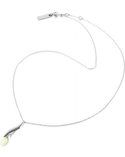 Серебряная подвеска на цепочке Nina Ricci