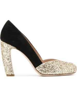 Туфли-лодочки на каблуке на высоком каблуке Miu Miu