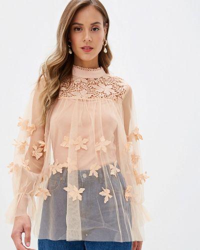 Блузка кружевная розовая Danity