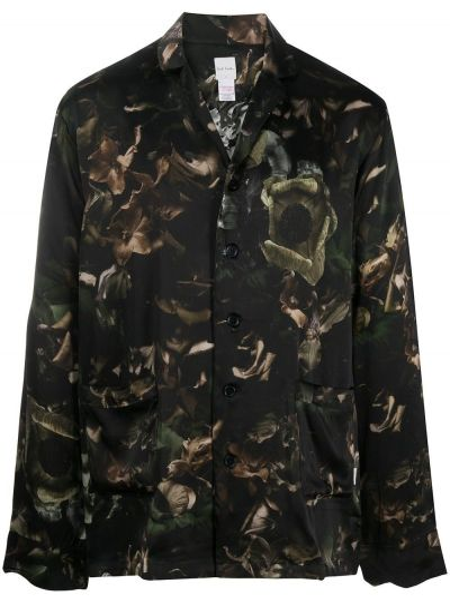 Satynowa piżama - zielona Paul Smith