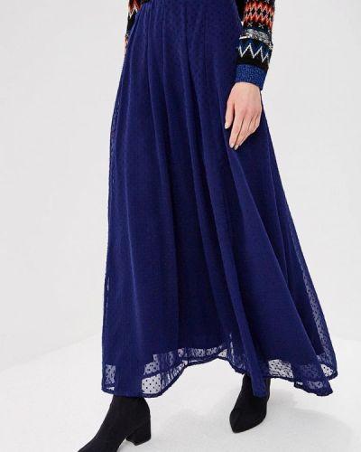 Юбка - синяя Almatrichi