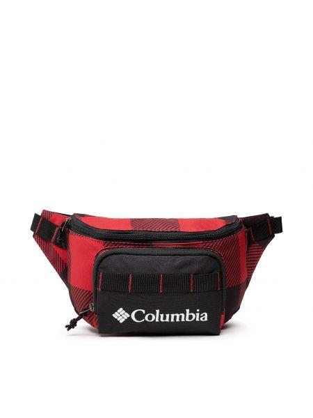 Torebka z printem - czerwona Columbia