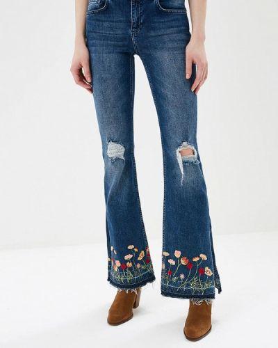 Широкие джинсы расклешенные турецкий Silvian Heach