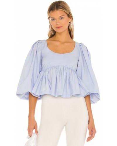Koszulka bawełniana - niebieska Lpa