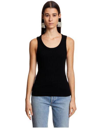 T-shirt - czarna Agolde
