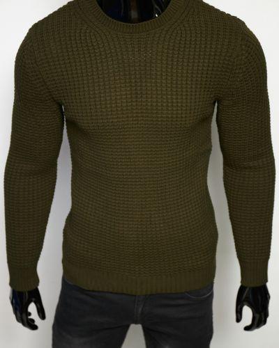 Шерстяной свитер - зеленый Figo