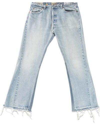 Niebieskie jeansy rozkloszowane Gallery Dept.
