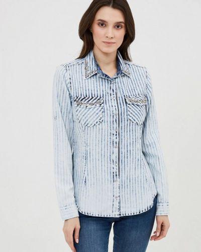 Джинсовая рубашка с длинным рукавом D'she