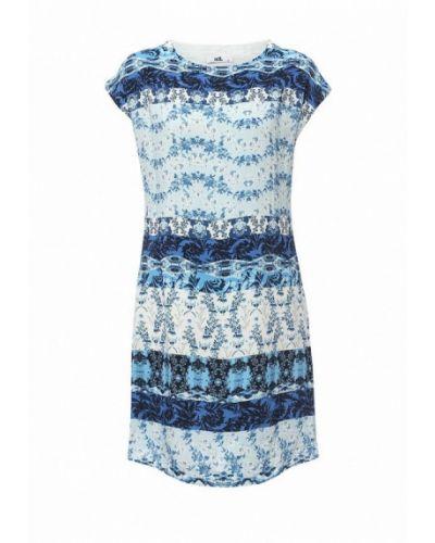 Платье - голубое Adl