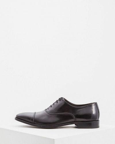 Черные туфли итальянские Cerruti 1881