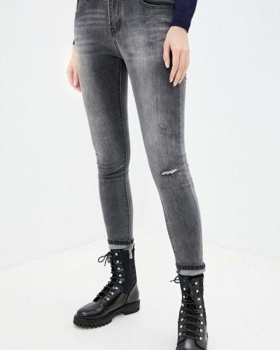 Зауженные джинсы - серые G&g