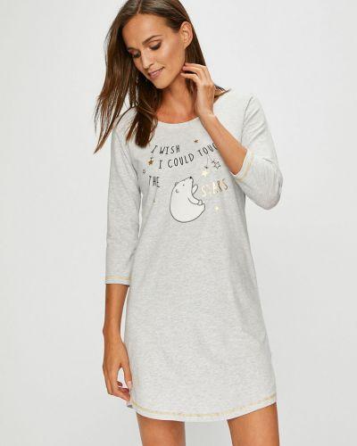 Пижама с рубашкой с рукавом три четверти Henderson Ladies