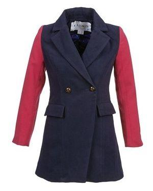 Niebieski płaszcz przeciwdeszczowy Kling