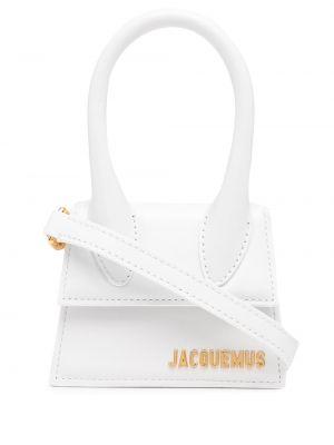 Кожаная сумка - белая Jacquemus