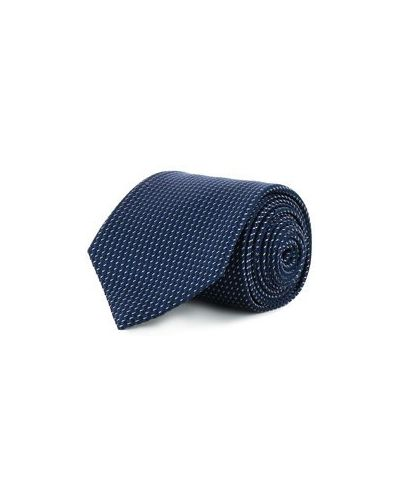 Синий галстук Brioni
