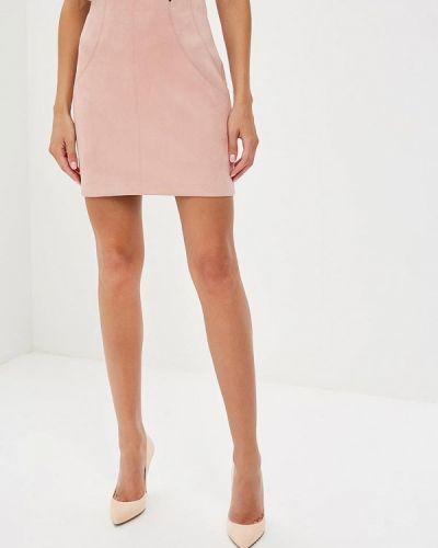 Розовая юбка осенняя Love Republic