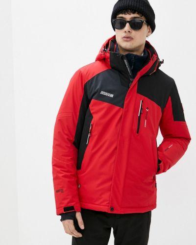 Красная куртка горнолыжная High Experience