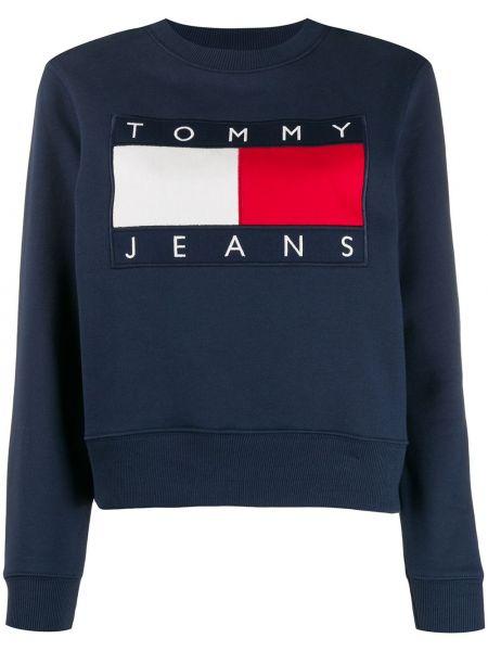 Джинсы с вышивкой в полоску Tommy Jeans