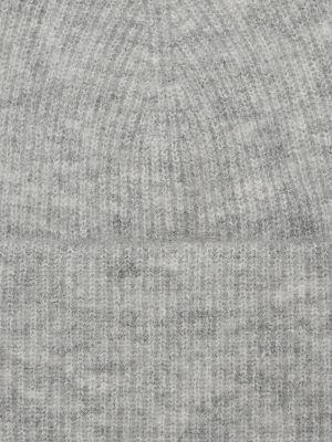 Шапка из альпаки - серая Marc O'polo Denim