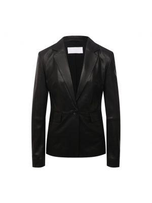 Кожаный пиджак Boss