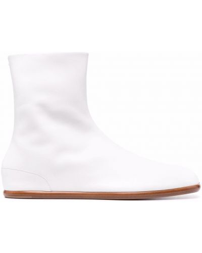 Białe ankle boots Maison Margiela