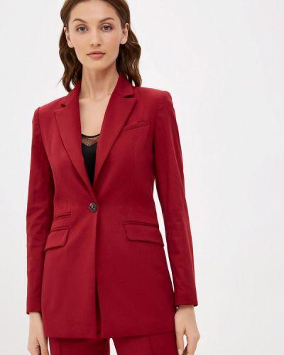 Бордовый пиджак La Biali