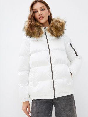 Белая куртка осенняя Geox