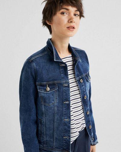 Джинсовая куртка весенняя синий Springfield