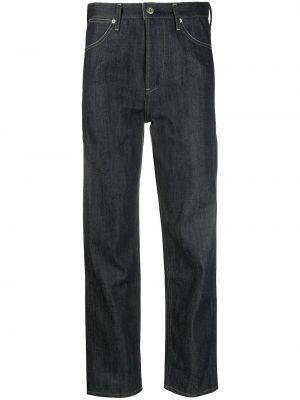 Klasyczne niebieskie jeansy bawełniane Jil Sander