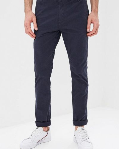 Синие зауженные брюки Mezaguz