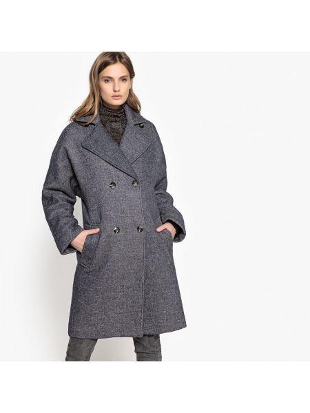 Пальто оверсайз бушлат La Redoute Collections