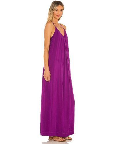 Платье макси длинное - фиолетовое Michael Stars
