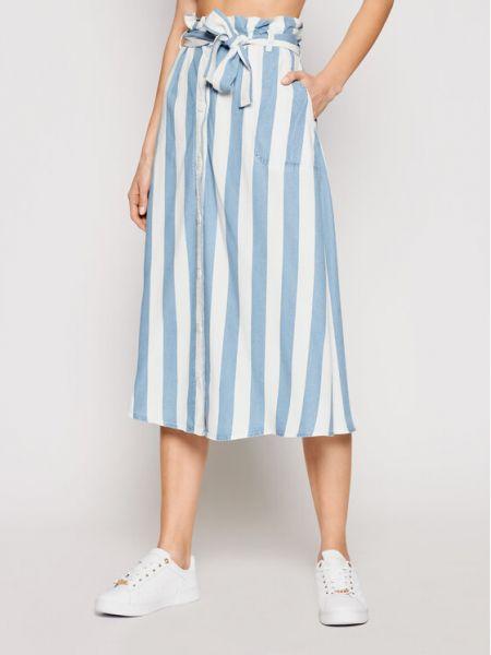 Spódnica trapezowa - niebieska Lee