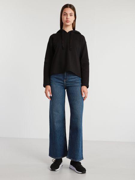 Синие джинсы с высокой посадкой с карманами Lee