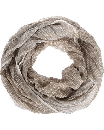 Бежевый шарф весенний Emporio Armani