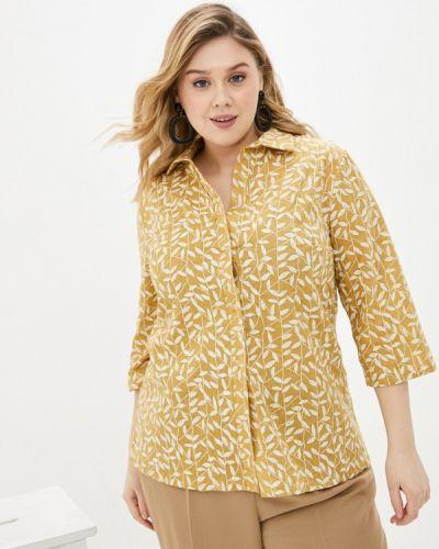 Коричневая блузка Prewoman