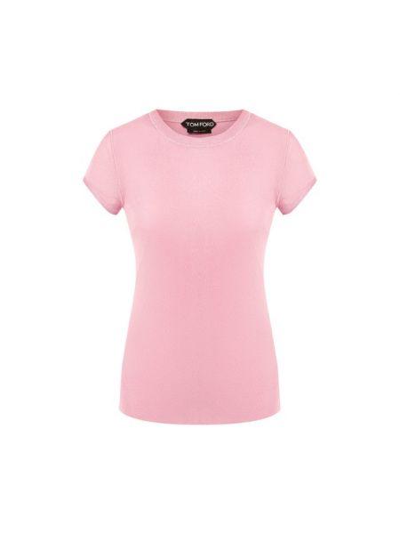 Топ облегающий розовый Tom Ford