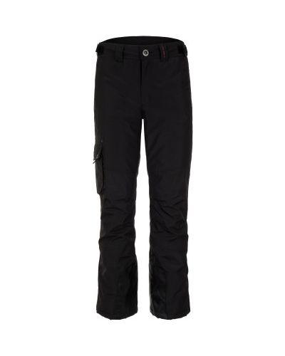 Спортивные брюки утепленные черные Exxtasy