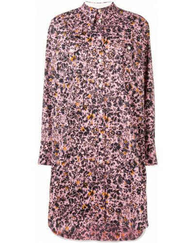 Платье розовый на пуговицах Calvin Klein