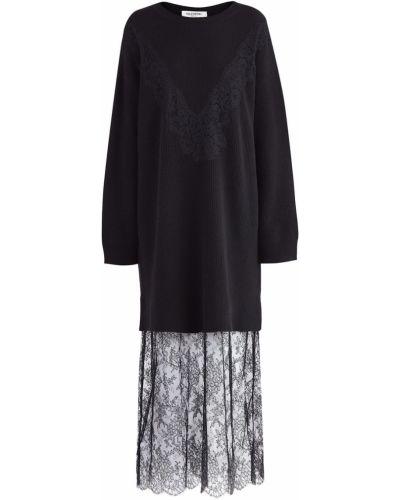Платье макси лапша с цветочным принтом Valentino