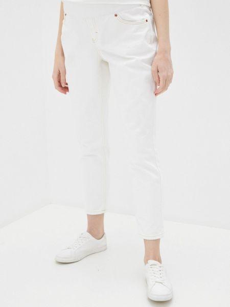 Белые прямые джинсы для беременных Topshop Maternity