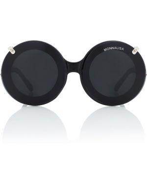 Okulary przeciwsłoneczne czarny czarny Monnalisa